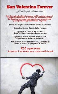 necci dal 1924 san valentino