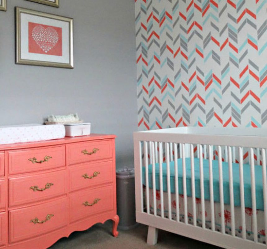 11 ideas para pintar una habitacin de beb  Menudos Bebs