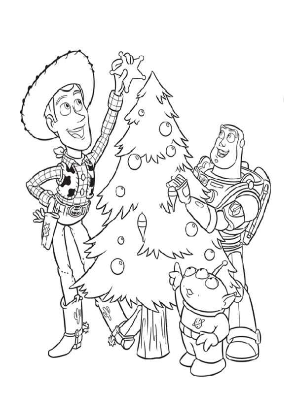 Dibujos Para Colorear En El Ordenador De Navidad