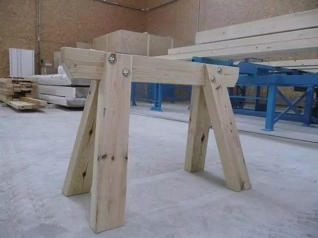 Trteau de charpentier 120cm  Menuiserie Bertin