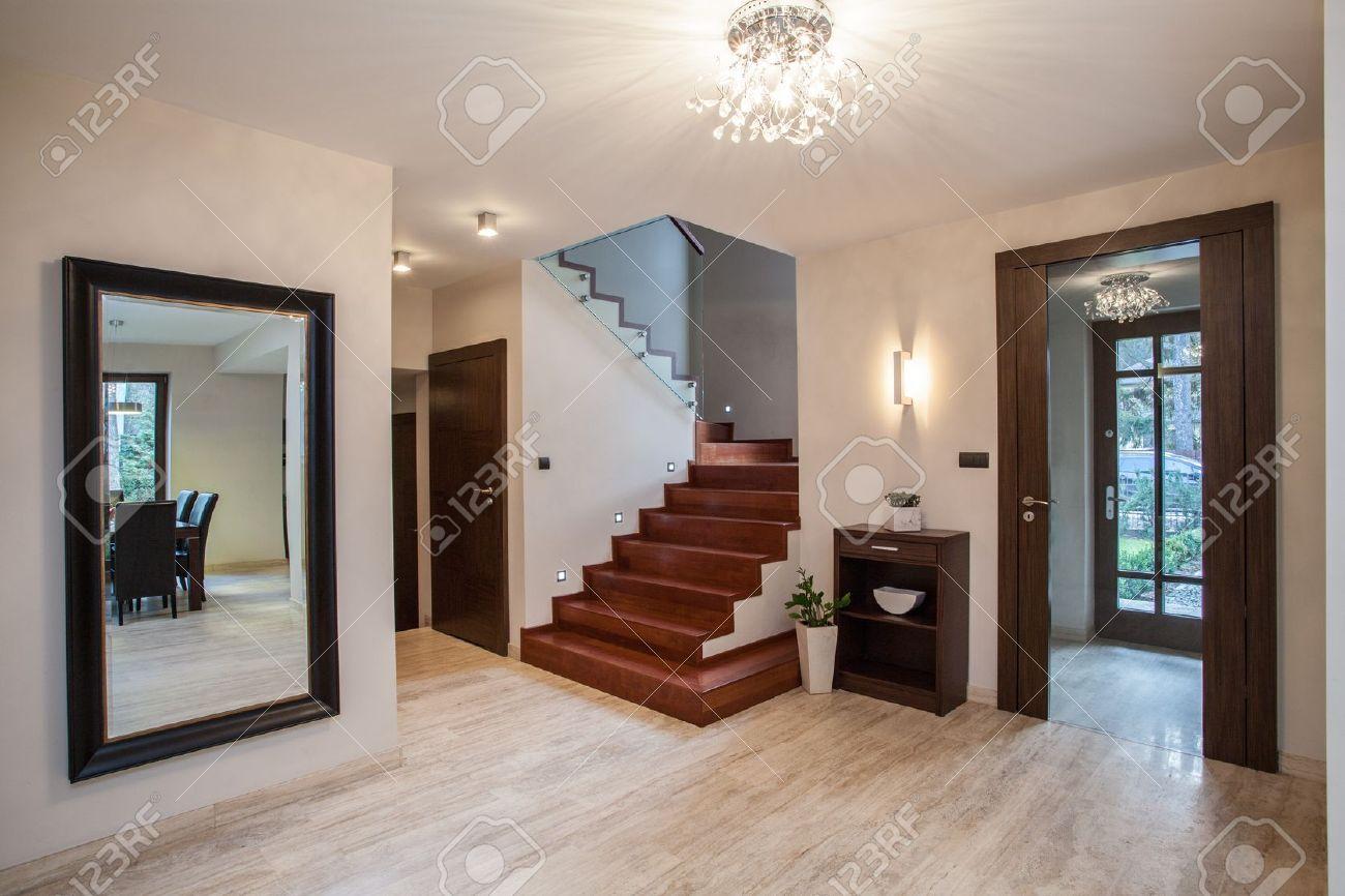 Hall entre maison moderne  Menuiserie