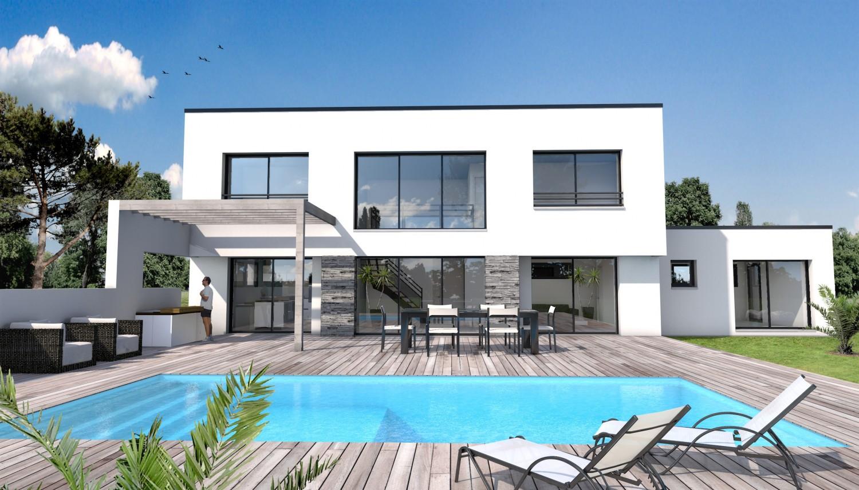 Maison Moderne Menuiserie Blanche - Décoration de maison idées de ...