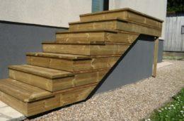 Terrasses Escaliers Menuiserie Mouquet Preaux