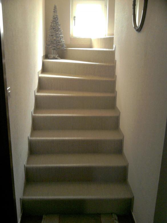 Escalier Parquet Flottant Juai Un Escalier Bton Et Je