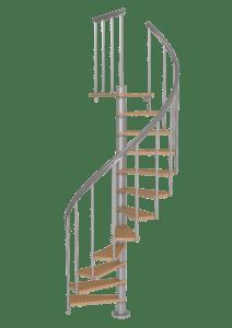 Menuiserie Philippe ROUGIE - escalier colimaçon bois alu