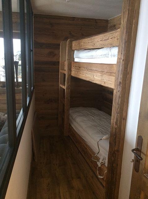 lit superpose sur mesure en vieux bois