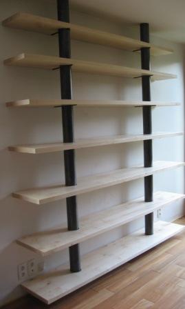 Fabrication bibliothque bois sur mesure Toulouse  Stphane Germain  Menuisier