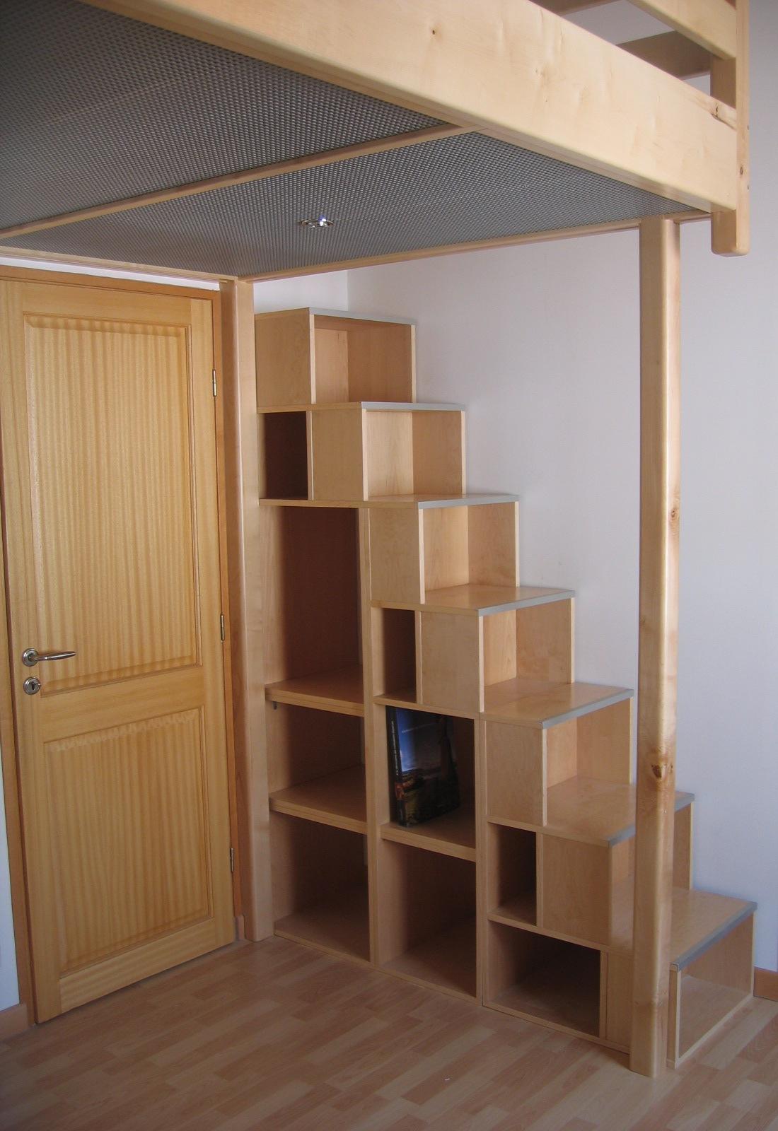 Fabrication mezzanine sur mesure en bois  Toulouse  Stphane Germain Ebniste