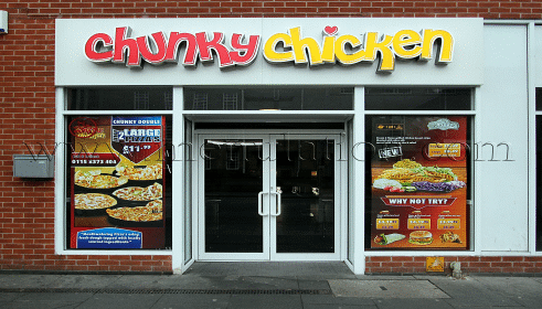 Chunky Chicken in Nottingham - menu, phone number, opening