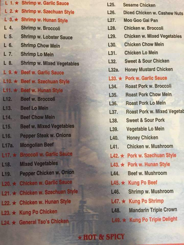 Chinese Buffet Restaurants Nearby