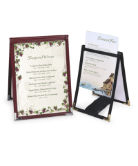 Cafe Style A-frame Table Tents