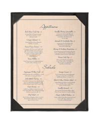 Single One View Bar Menu Holder | Menu Shoppe