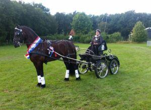 foto Liesbeth van der wal finale Rijs 6 aug 2016 - 2