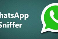 aplikasi whatsapp sniffer