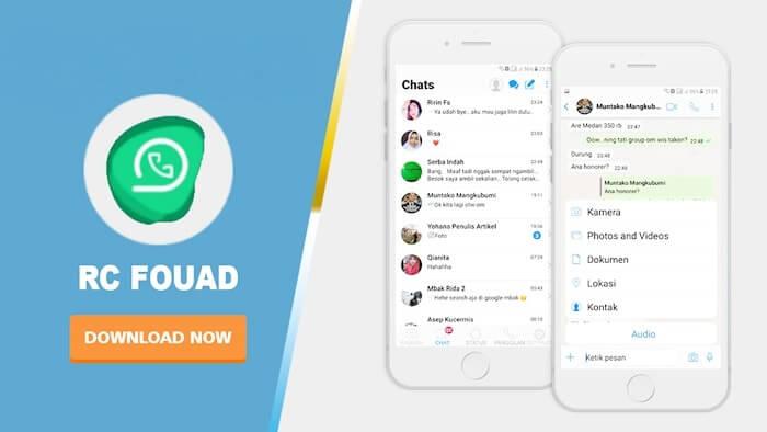 RC Fouad WhatsApp iOS
