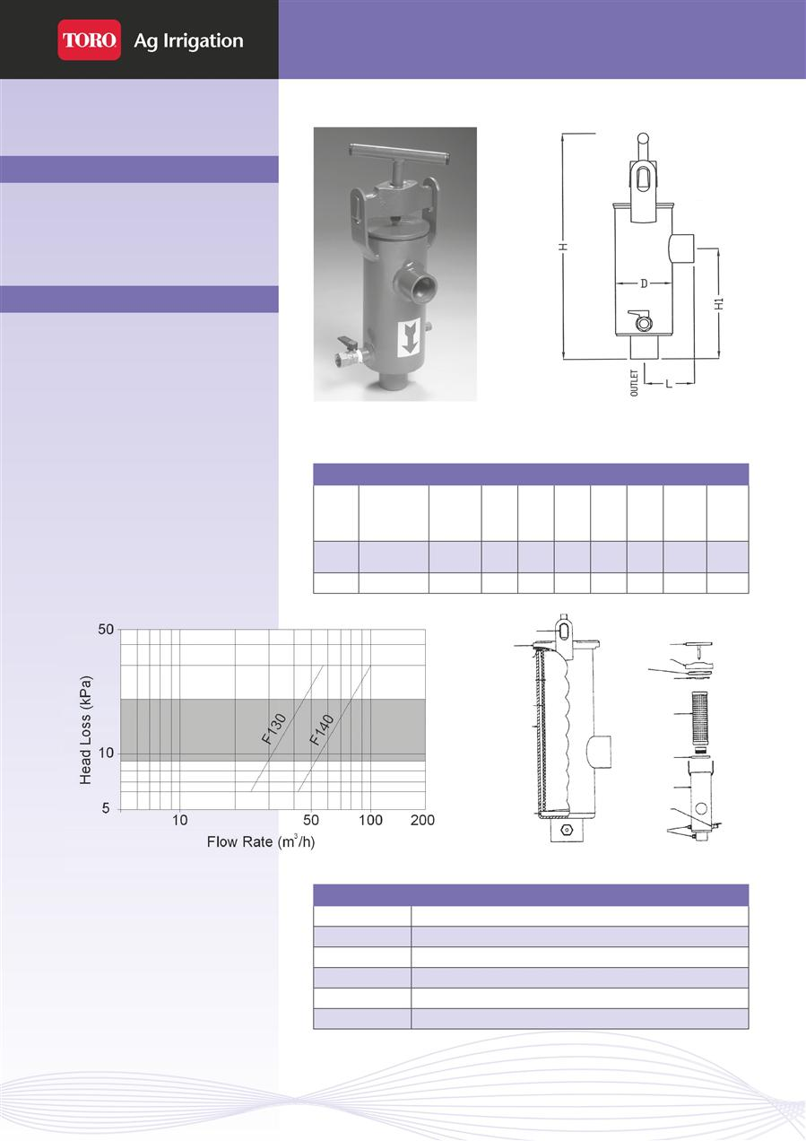 hight resolution of irrigation toro filters clear flo rmd right angle manual disc filter page 1