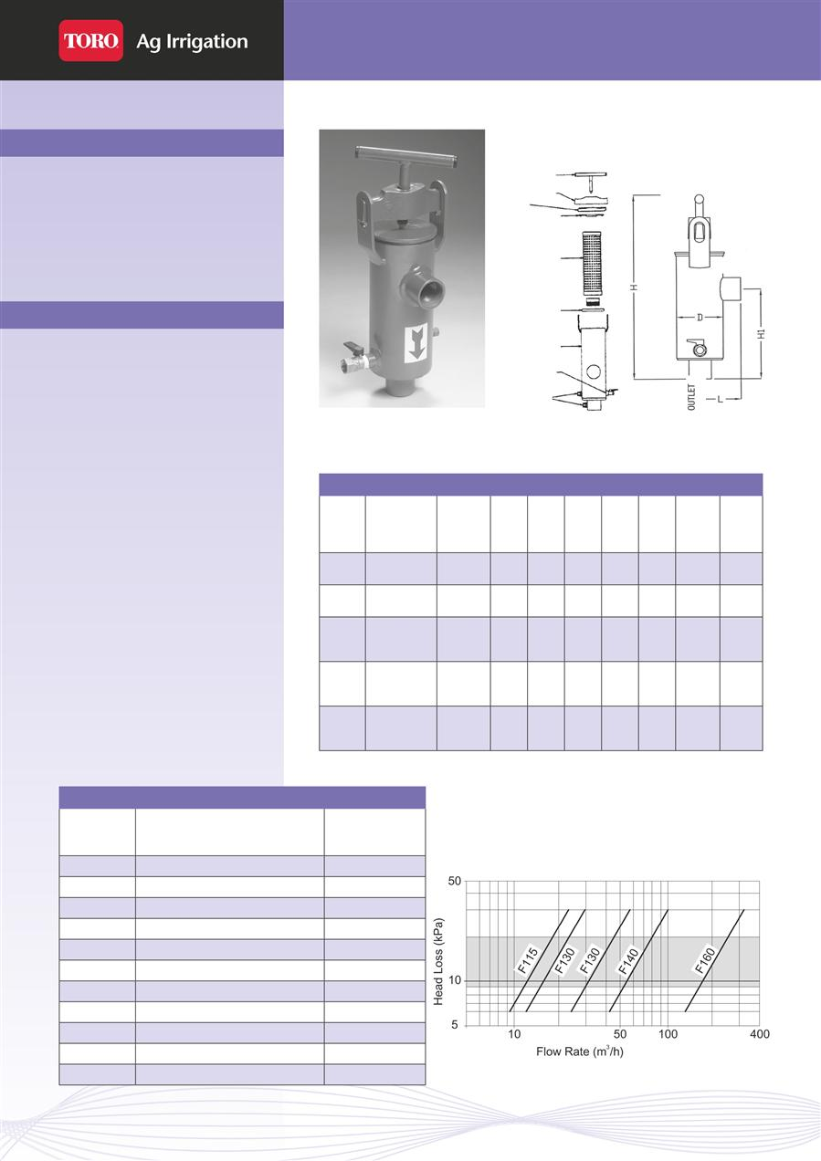 hight resolution of irrigation toro filters clear flo rms 100 right angle manual screen filters page 1