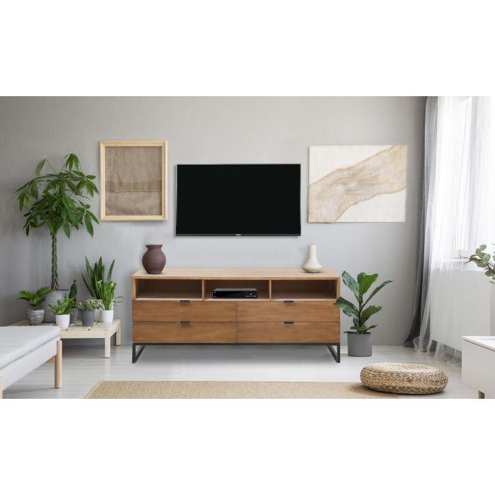 meuble tv panara chene clair