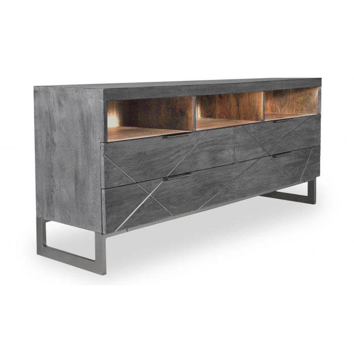 meuble tv tina gris