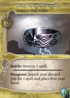 Ring of Spell Storing (picture by Alderac Entertainment)