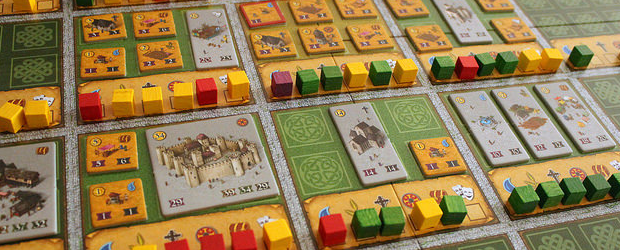 "Games where you build cities are not exactly new. But they rarely go into the logistics of it, things like ""before you build a theater there, shouldn't you supply food and water""? Canterbury goes into that part of building cities, but it doesn't need complicated rules for it. Just make sure you build things in order and make sure you get the majorities in supplying city districts, because that's how you win."