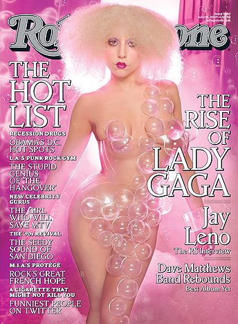 Rolling Stone cover - Lady GaGa by David LaChapelle