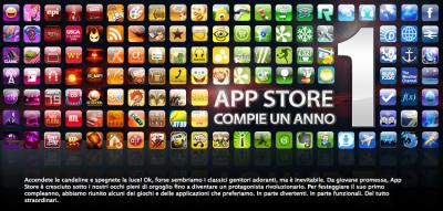 un anno di AppStore