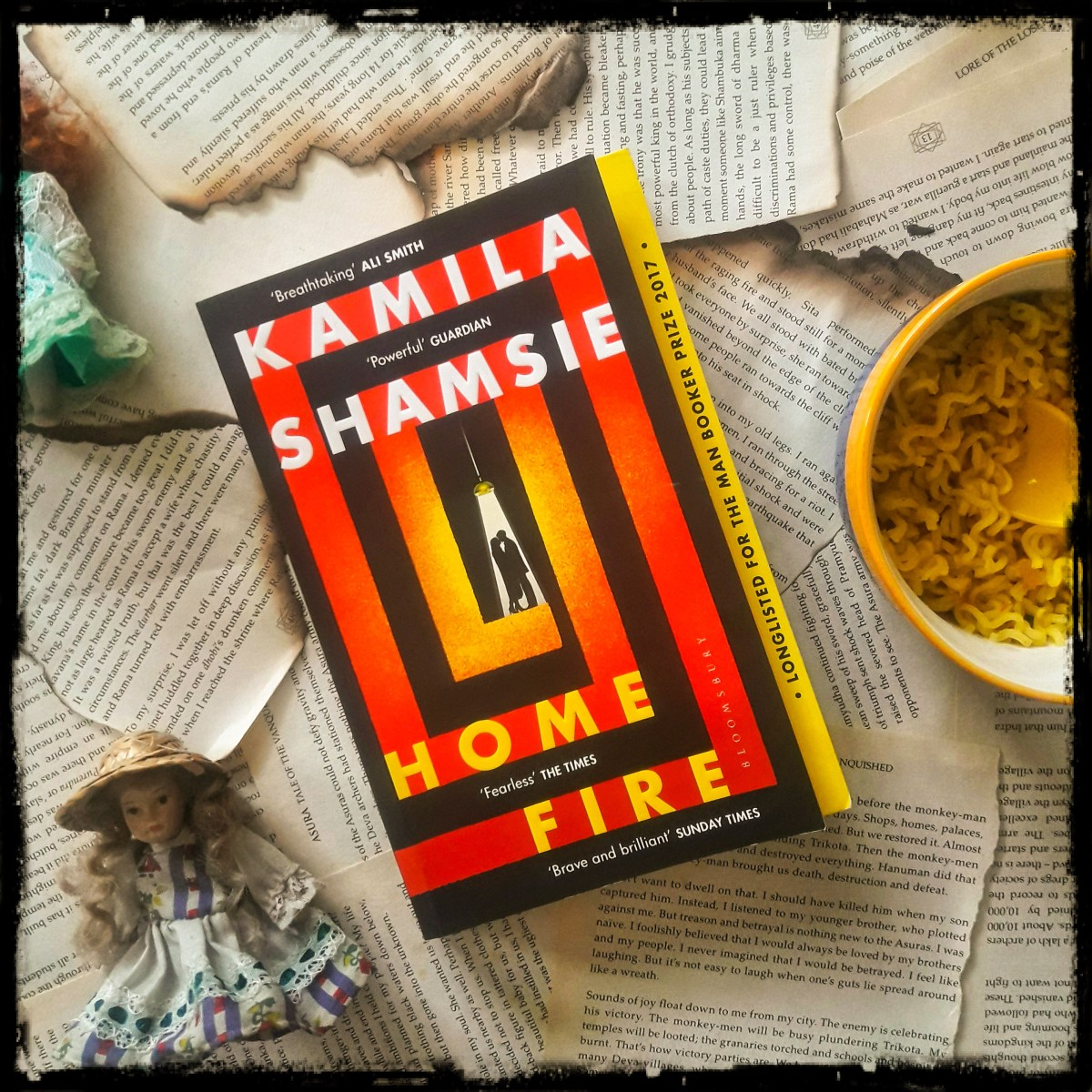 Home Fire By Kamila Shamsie- A Man Booker Longlist