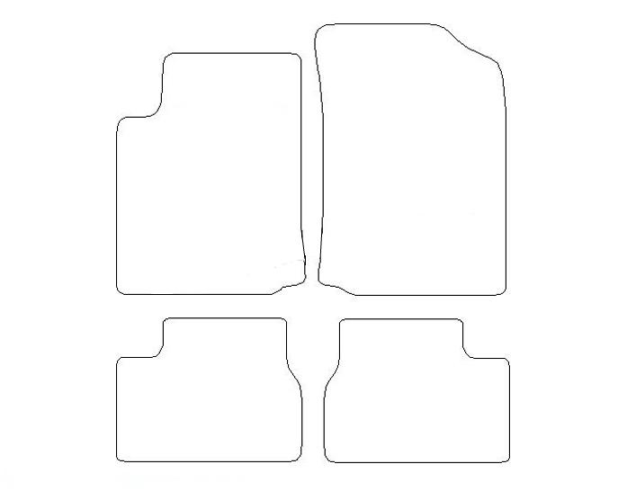 Tapis Citroen C3 (2002-2005)