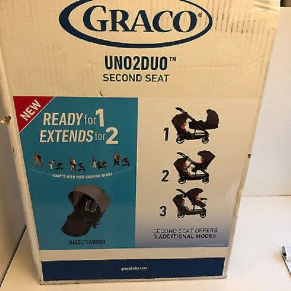 Ace, BRAND NEW IN BOX Graco Uno2Duo Stroller Second Seat
