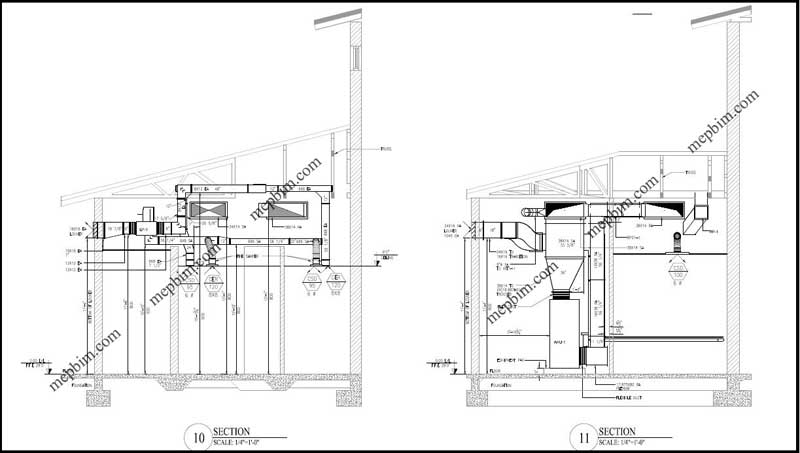 MEP Shop Drawing, Fabrication Drawing