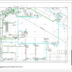 Plumbing Sanitary Riser Diagram Rj45 Ethernet Wiring Cable Mep Shop Drawing Fabrication