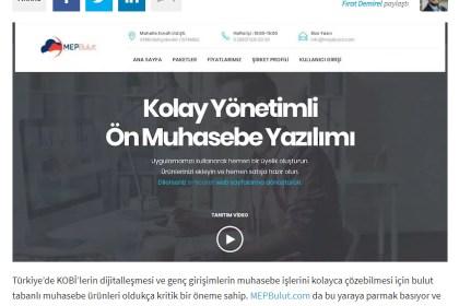 Webrazzi - MEPBulut: E-ticaret altyapısı da sunan bulut tabanlı ön muhasebe platformu