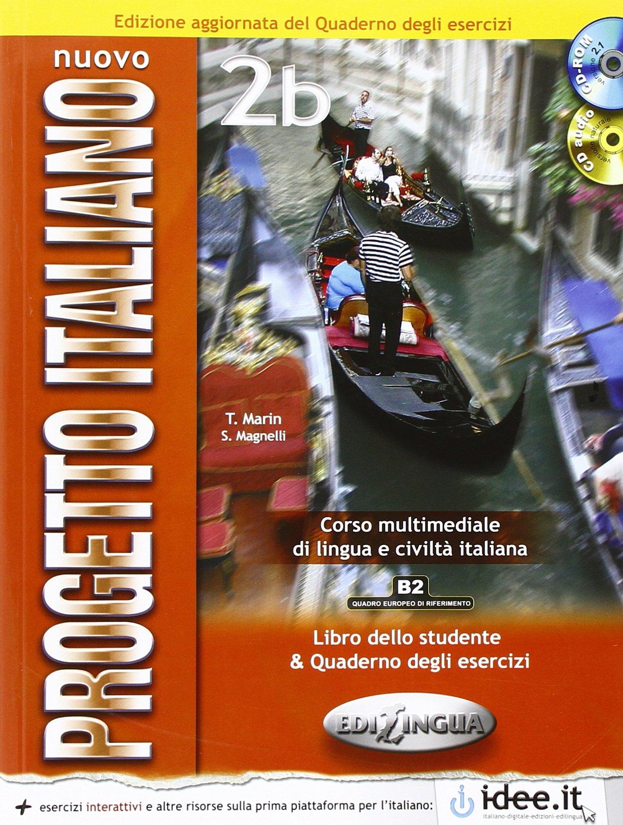 Nuovo Progetto italiano 2b  Libro dello Studente  quaderno degli esercizi  DVD  CD Audio 2