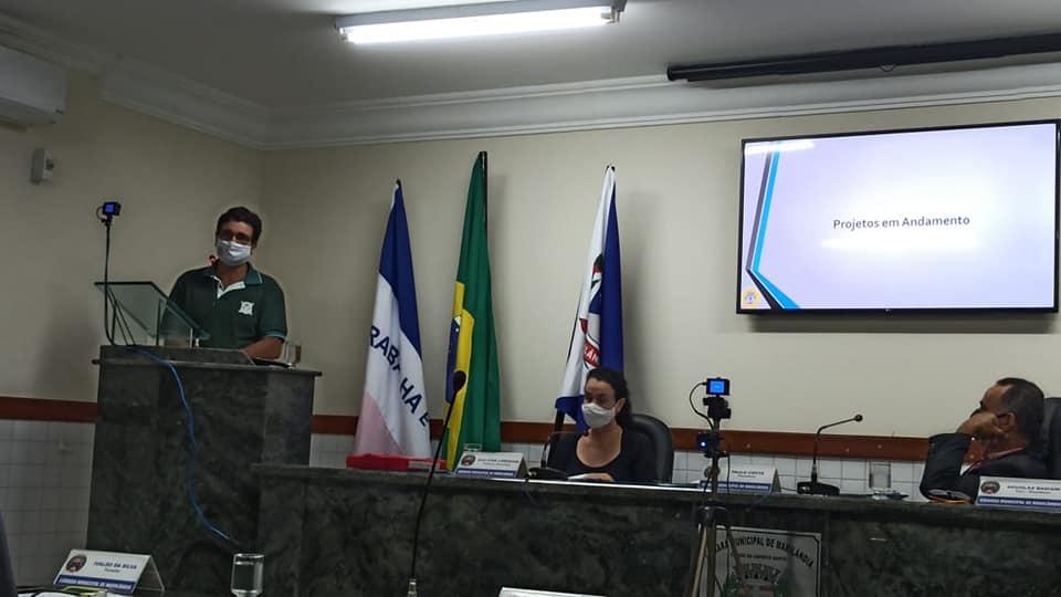 EFA de Marilândia presta contas na Câmara Municipal