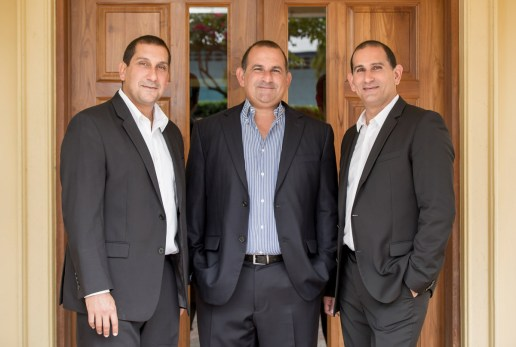 HADCO Group co-CEOs: Joseph Hadad, Robert Hadad, John Hadad. Photo courtesy HADCO Ltd