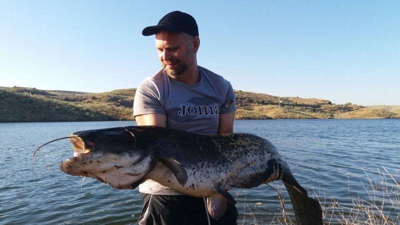 Pesca de Siluros en Extremadura
