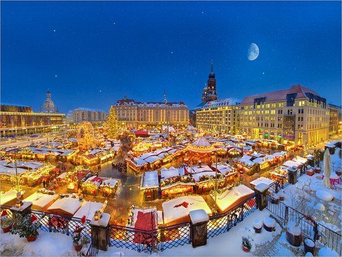 Striezelmarkt – un precioso mercadillo navideño en Alemania
