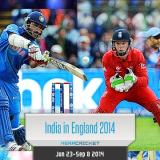 Indian Cricket Team Tour England 2014