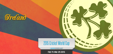 Ireland Cricket Team World Cup Cricket 2015