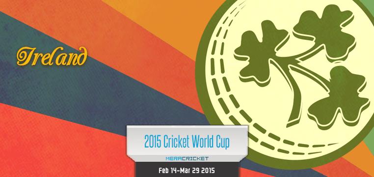 Ireland Cricket Team World Cup Cricket 2015