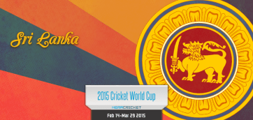 Sri Lanka Cricket Team World Cup Cricket 2015