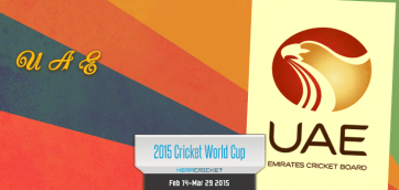 UAE Cricket Team World Cup Cricket 2015