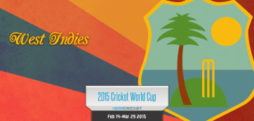 West Indies Cricket Team World Cup Cricket 2015