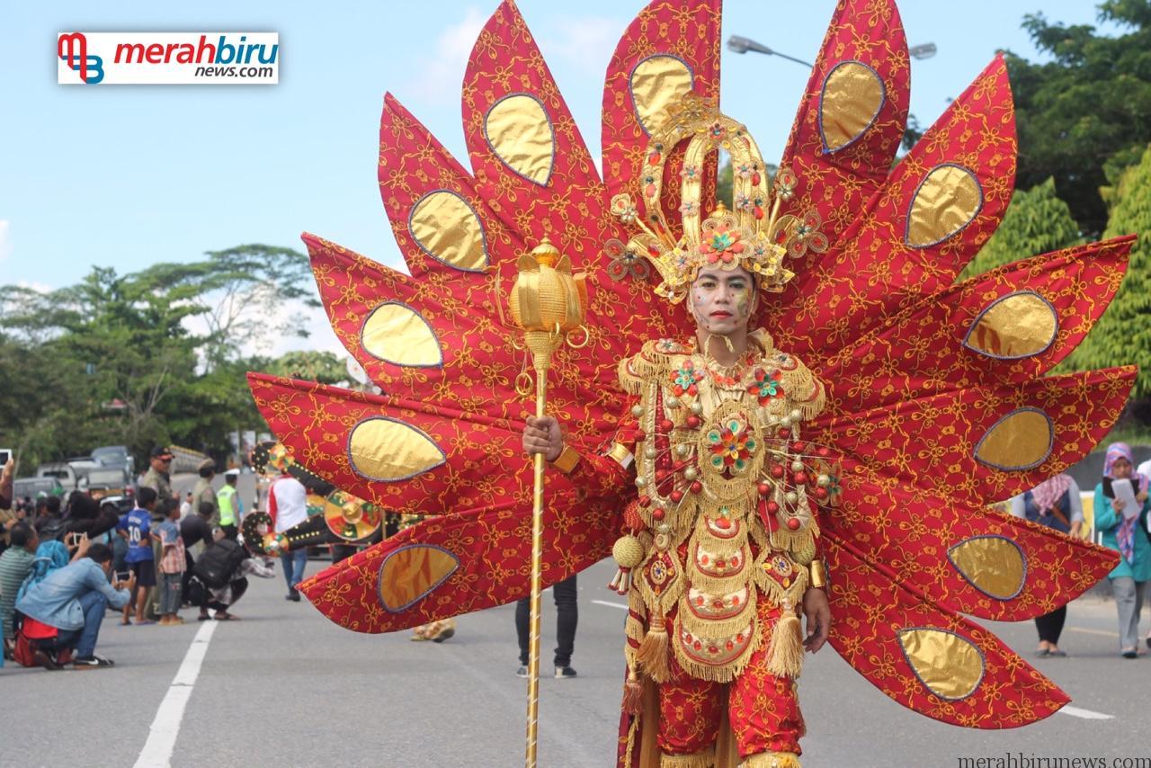 Unik dan Kreatif Inilah Kostum Karnaval Iraw Tengkayu