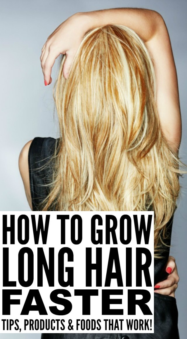 Want to learn how to grow your hair faster so you can sport long, sexy locks like all of the celebs in your favorite magazines? We've got you covered! We've rounded up some great DIY tips to teach you how to get longer and thicker hair naturally at home. These step-by-step ideas won't give you long hair overnight, and you likely won't see a miracle within a week, but if you're diligent, you'll surely start seeing results in a month.