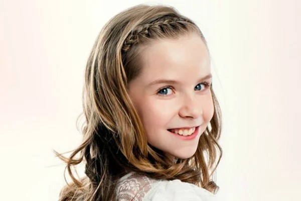 Back To School Long Hairstyles For Little Girls
