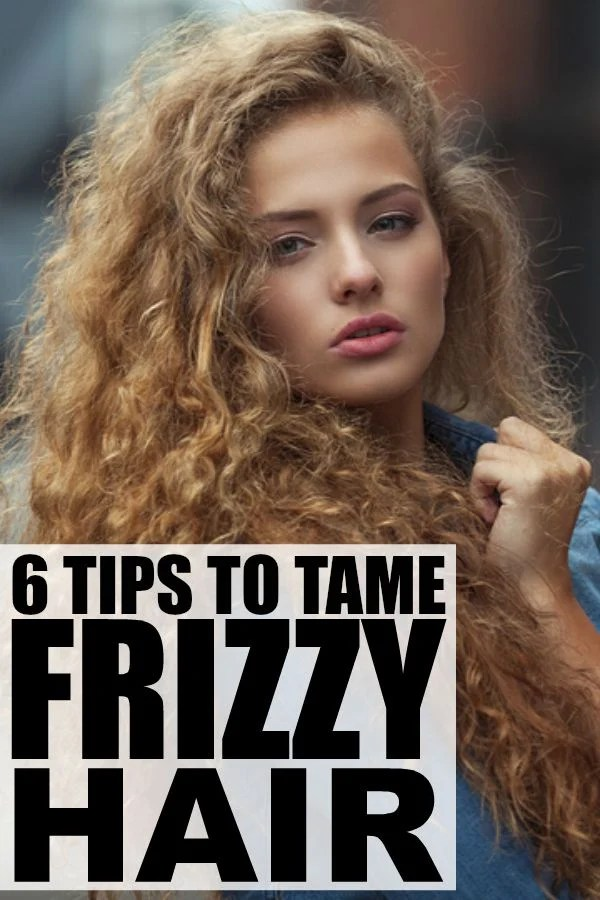 Frizzy Hair Tips