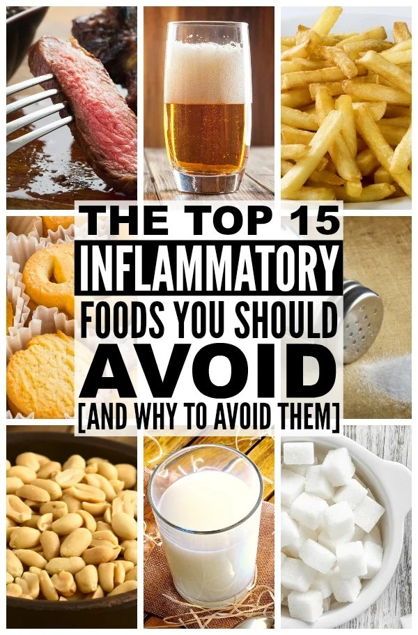 List Of Inflammatory Foods Mayo Clinic
