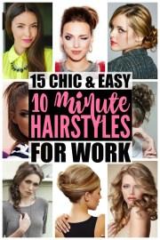 hairstyles work 15 easy